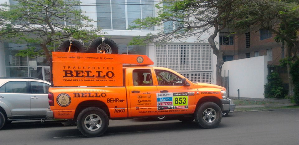 Equipo de soporte. Support team.Photo Credit, Raul Valdivia.